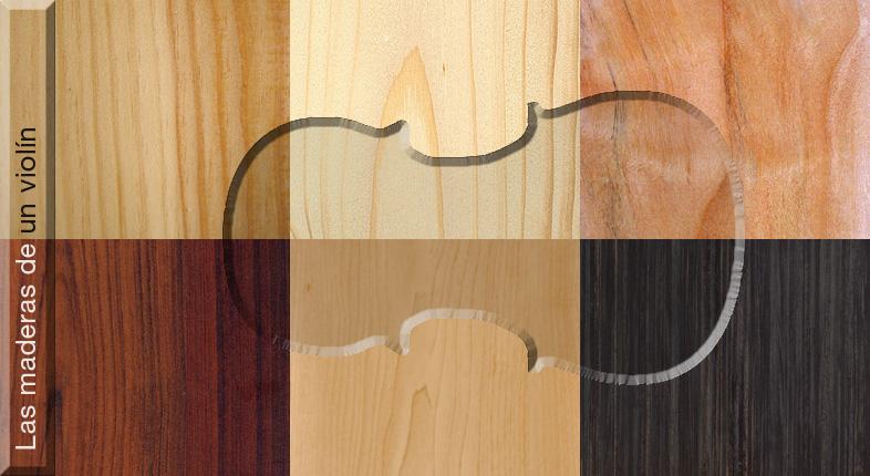 Las maderas de un violín