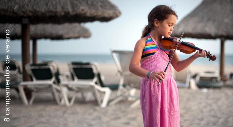 8 Campamentos de verano para violinistas