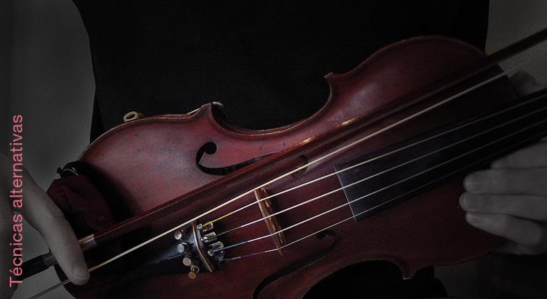 Técnicas alternativas de violín