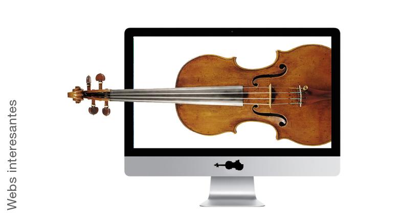 Webs interesantes sobre el violín