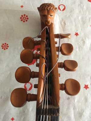 Violin 8 cuerdas JesusPepinGomez 6 ClavijeroCabezaLeon 0